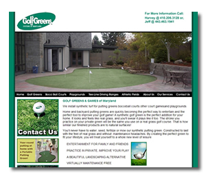 maryland_web_design_golf